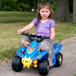 Lil Rider Blue Bandit GT Sport - Battery Operated ATV