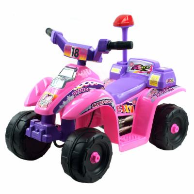  Lil Rider Batter Powered Pink/Purple Mini ATV 4 Wheeler Riding Toy
