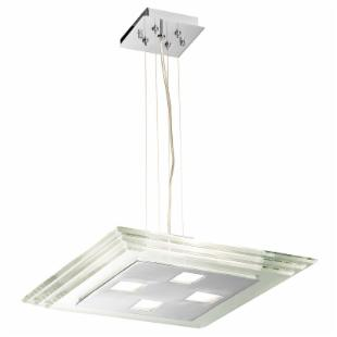 Access Lighting Silica Island Light - 15.75W in. Chrome