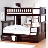  Columbia Twin over Full Bunk Bed