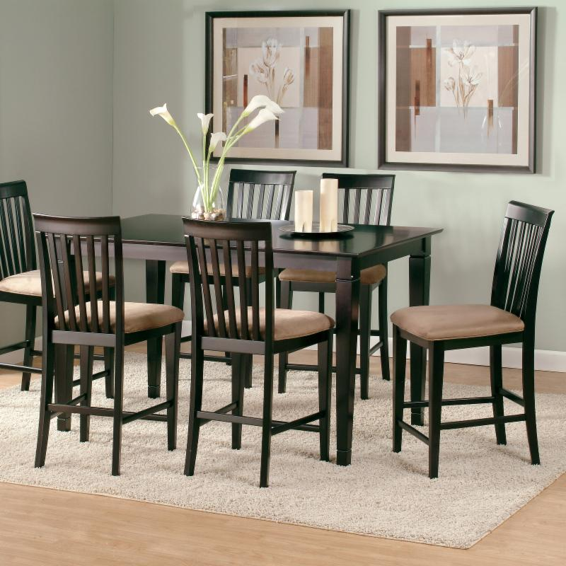 Deco 7-Piece Counter Height Table Set