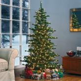  Woodland Slim Pre-lit Christmas Tree