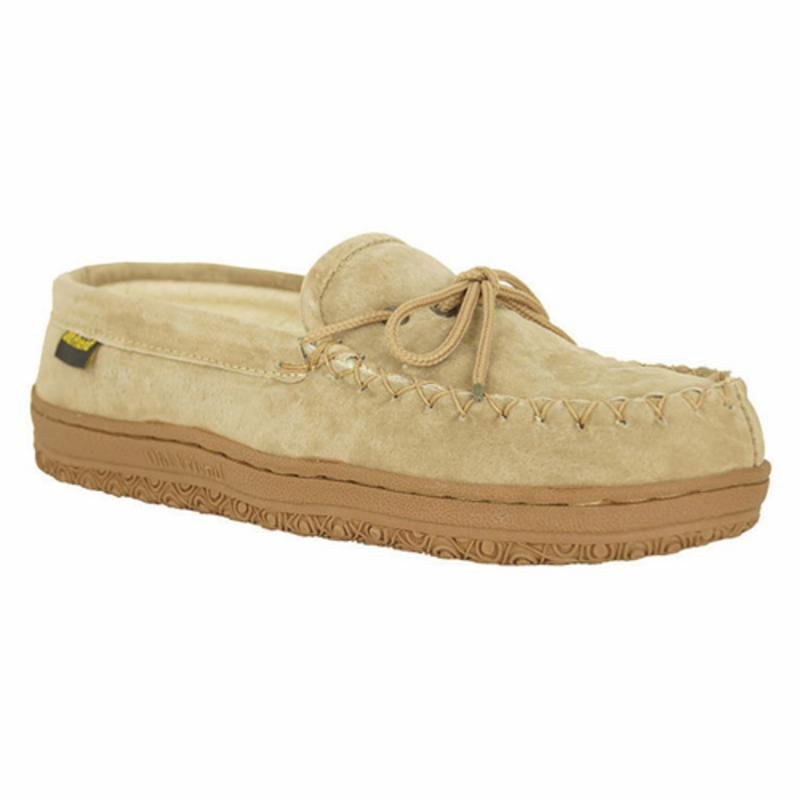 Discount clothing stores Old Friend Mens and Womens Terry Cloth Moccasin Slippers