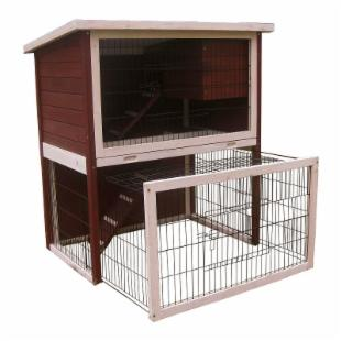 Advantek Sun Room Rabbit Hutch