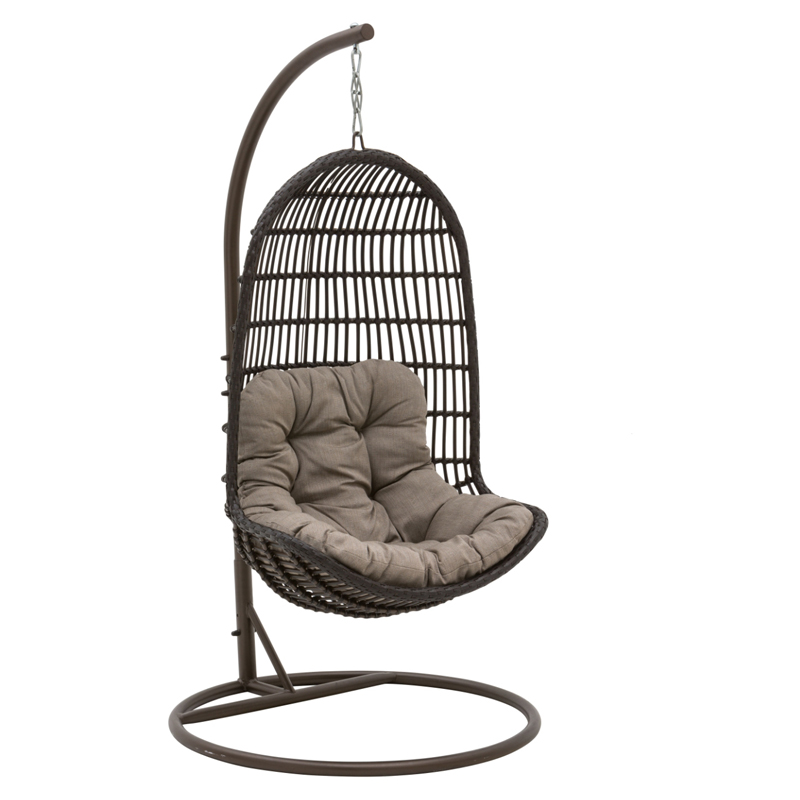 Patio Heaven Birds Nest Hanging Chair With Arms Hammock