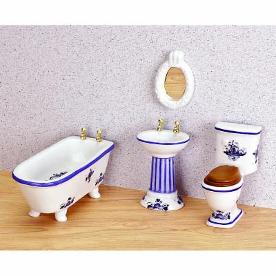  Blue Delft Bathroom Set