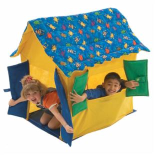 Bazoongi My Little Froggy Fun Roof Fabric Playhouse