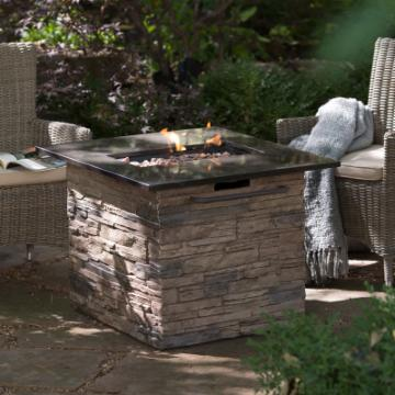Red Ember Coronado Gas Fire Pit Table With Free Cover