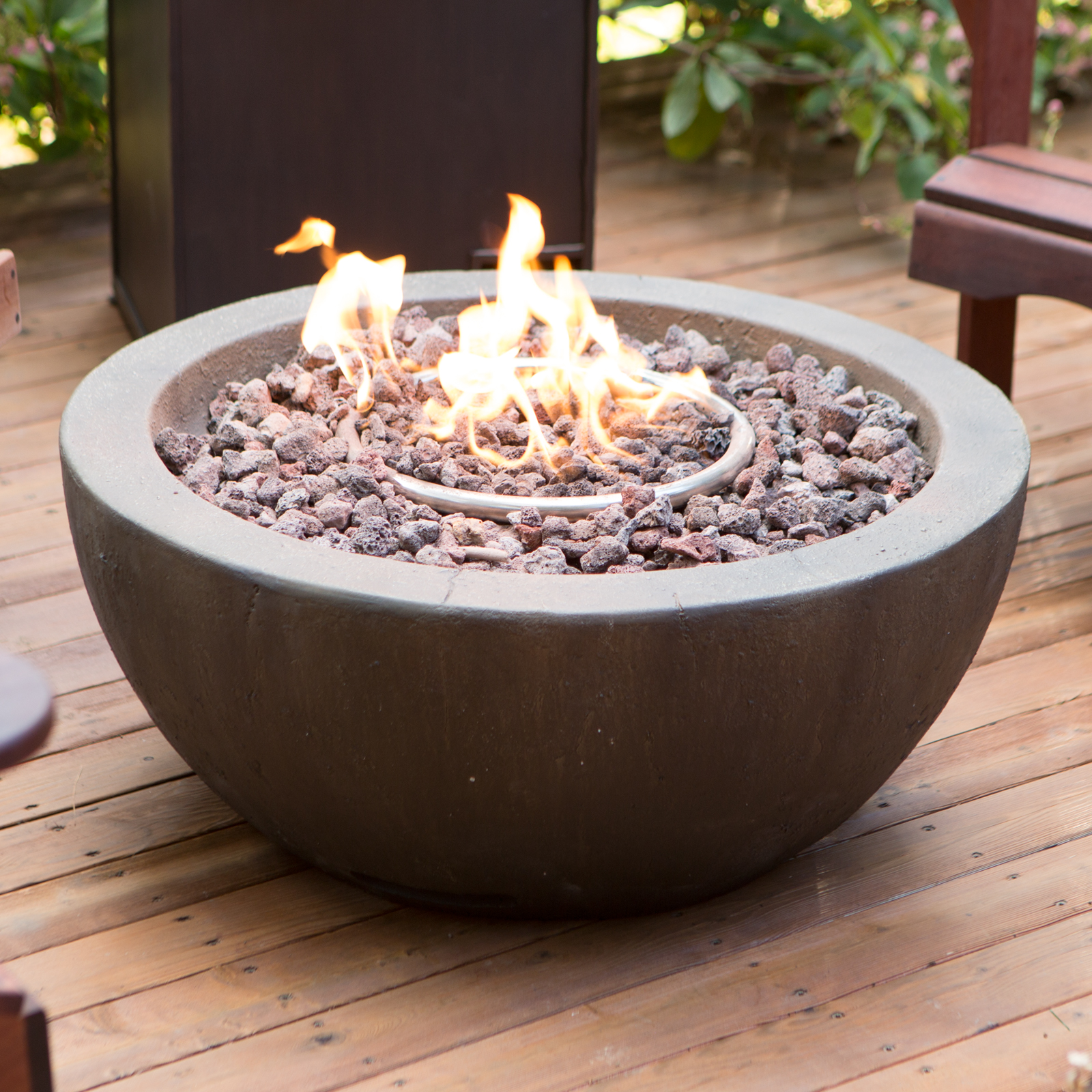 Red Ember Mesa 28 In Gas Fire Pit Bowl With FREE Cover