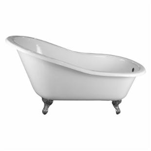 Barclay 61 Inch Cast Iron Slipper Clawfoot Tub