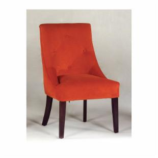 Naria Club chair -Rust