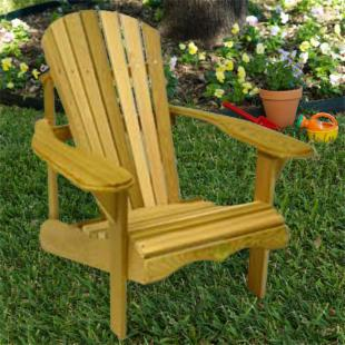 Bear Chair Premier Adirondack Chair Kit