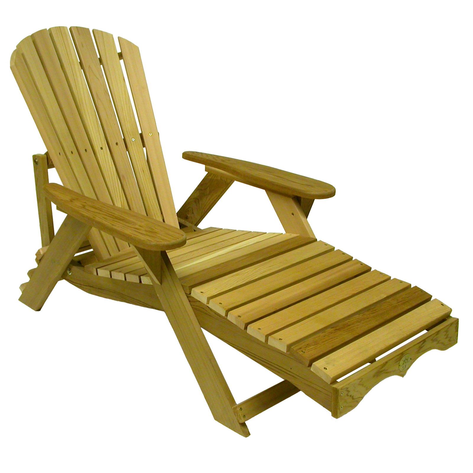 bear chair adirondack chaise lounge kit pine at hayneedle