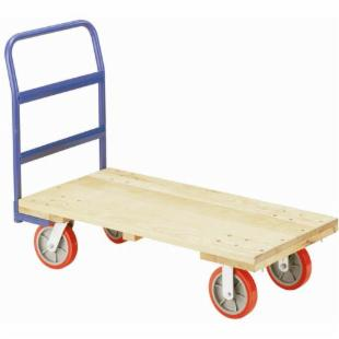 Little Giant Wood Platform Cart