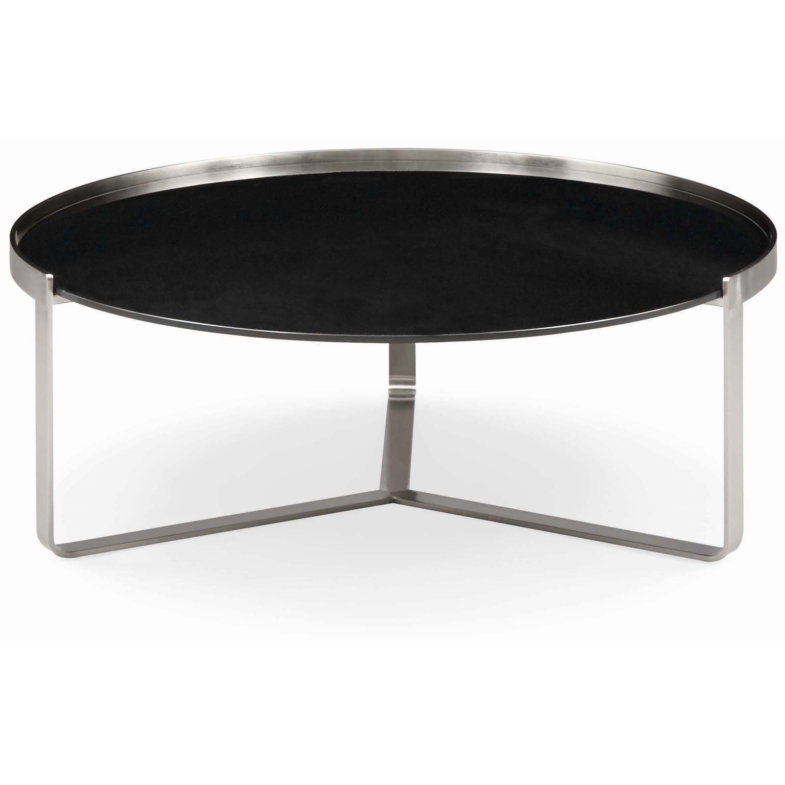 Bernhardt soho round cocktail table coffee tables at hayneedle Bernhardt coffee tables