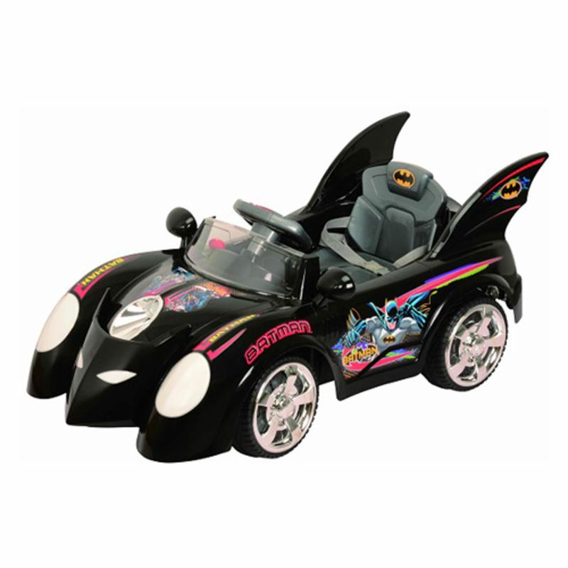 Best Ride On Cars Batmobile Car Battery Powered Riding Toy
