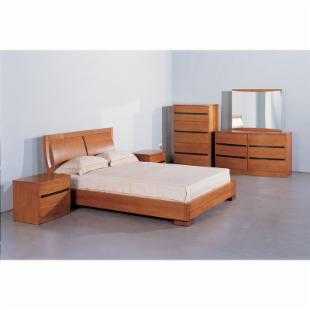 Maya Platform Bed - Teak