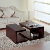  Jengo 2 Piece Coffee Table - Espresso