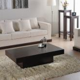  Nile Rectangular Coffee Table - Dark Brown Oak