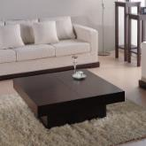  Nile Square Coffee Table - Dark Brown Oak
