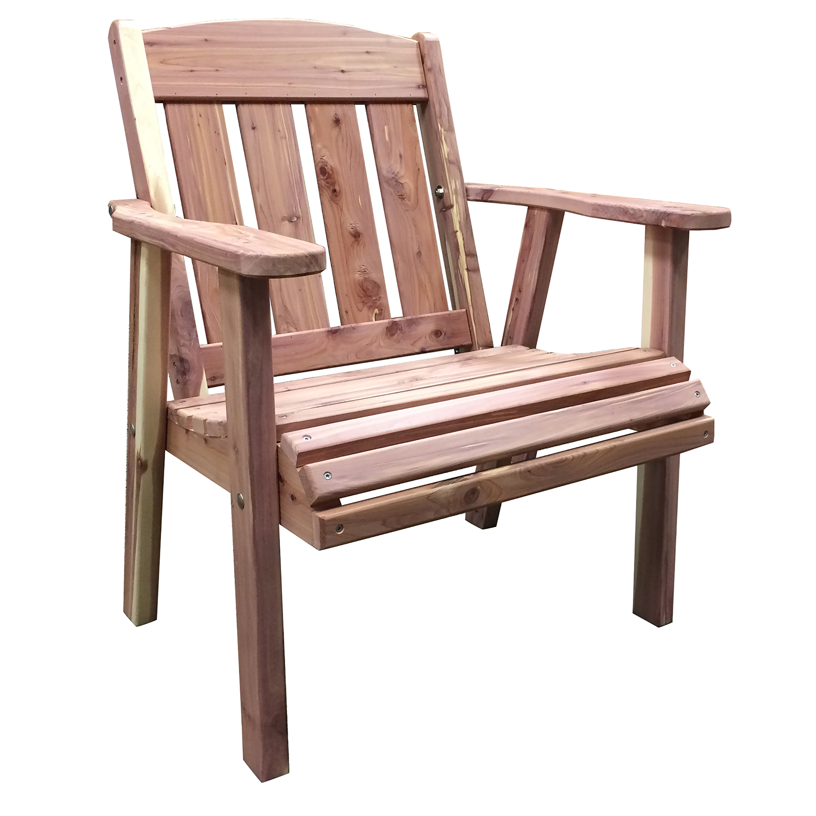 Amerihome Usa Amish Made Cedar Mission Style Chair