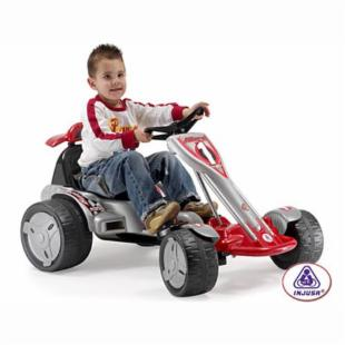 Injusa Big Wheels Go-Kart 12-volt