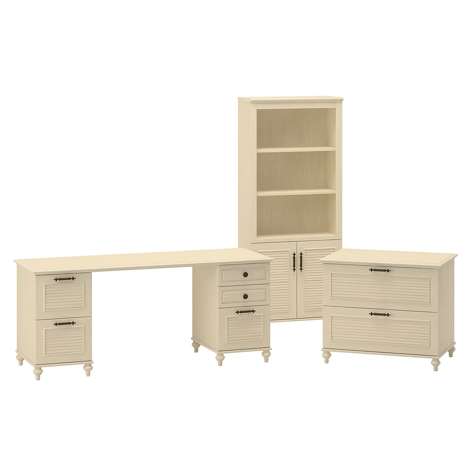 Kathy Ireland Office By Bush Furniture Home Office Bundle