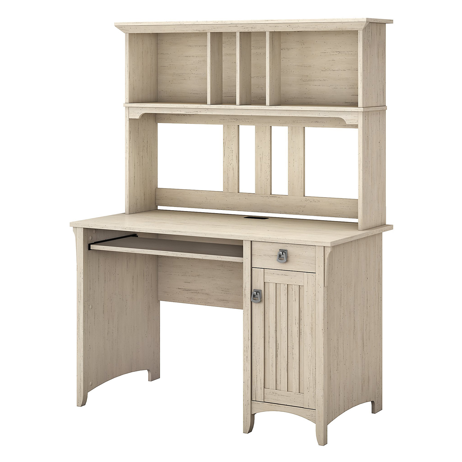 Salinas Mission Desk And Hutch Antique White Desks At