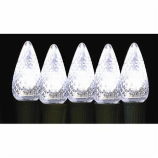 Brite Ideas 25 Bulb White C9 LED Light Set
