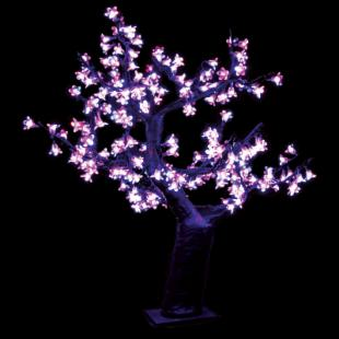 2.5 ft. Pre-lit LED Cherry Blossom Tree - Pink