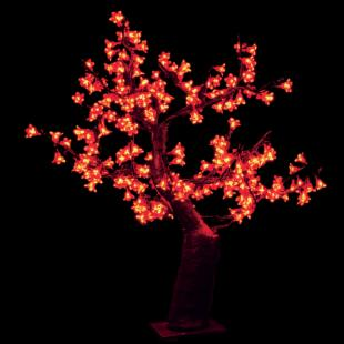 2.5 ft. Pre-lit LED Cherry Blossom Tree - RGB Color Changing