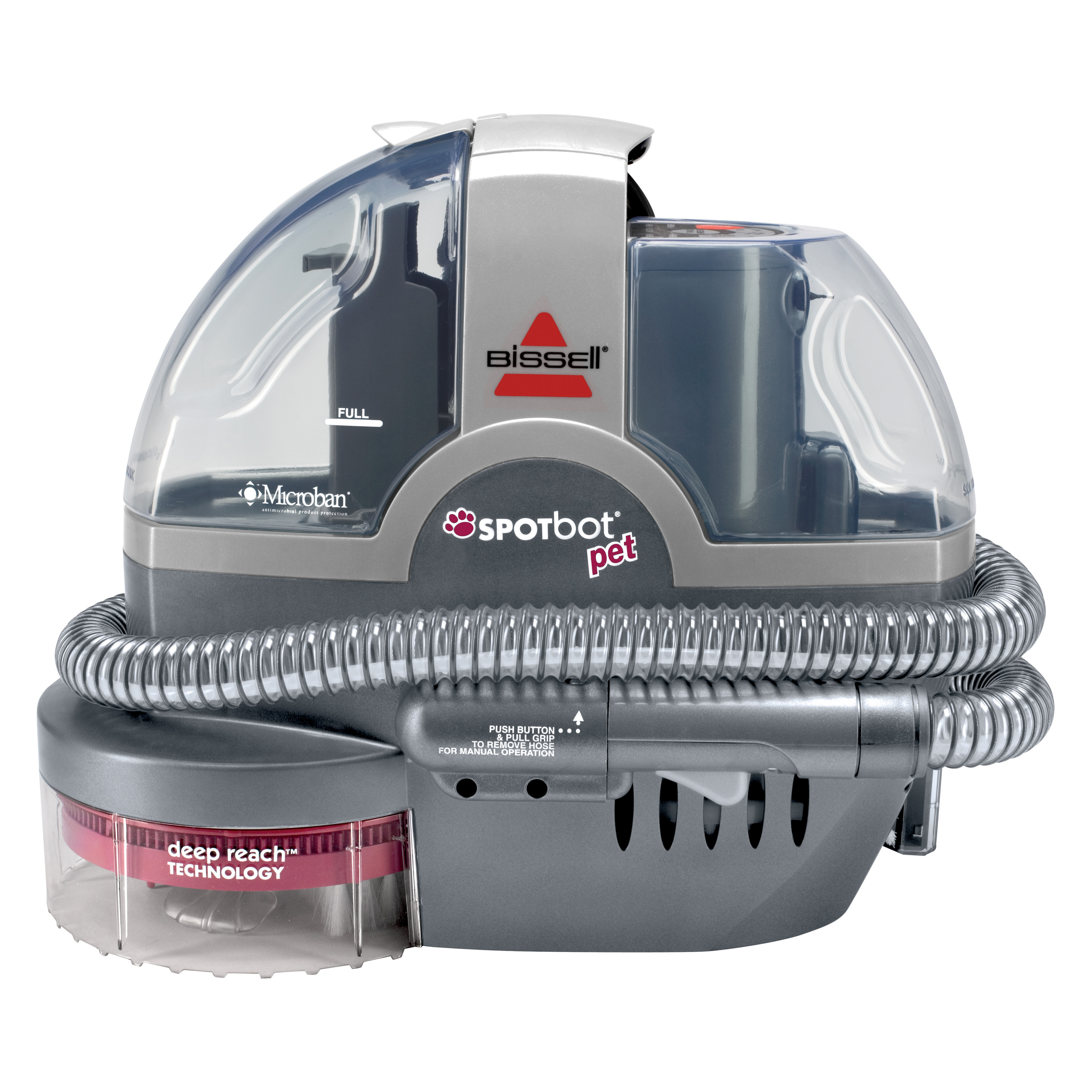 Bissell Spotbot Portable Hand Held Pet Carpet Cleaner 33n8