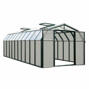 Rion Hobby Gardener 8.5 x 20.75 ft. Green Frame Greenhouse Kit
