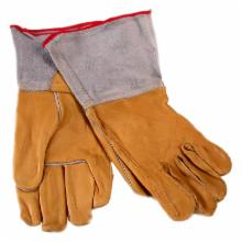  Jemcor Heavy Duty Leather Gauntlet Work Glove
