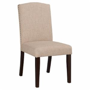 Boraam Champagne Parsons Dining Chair - Set of 2
