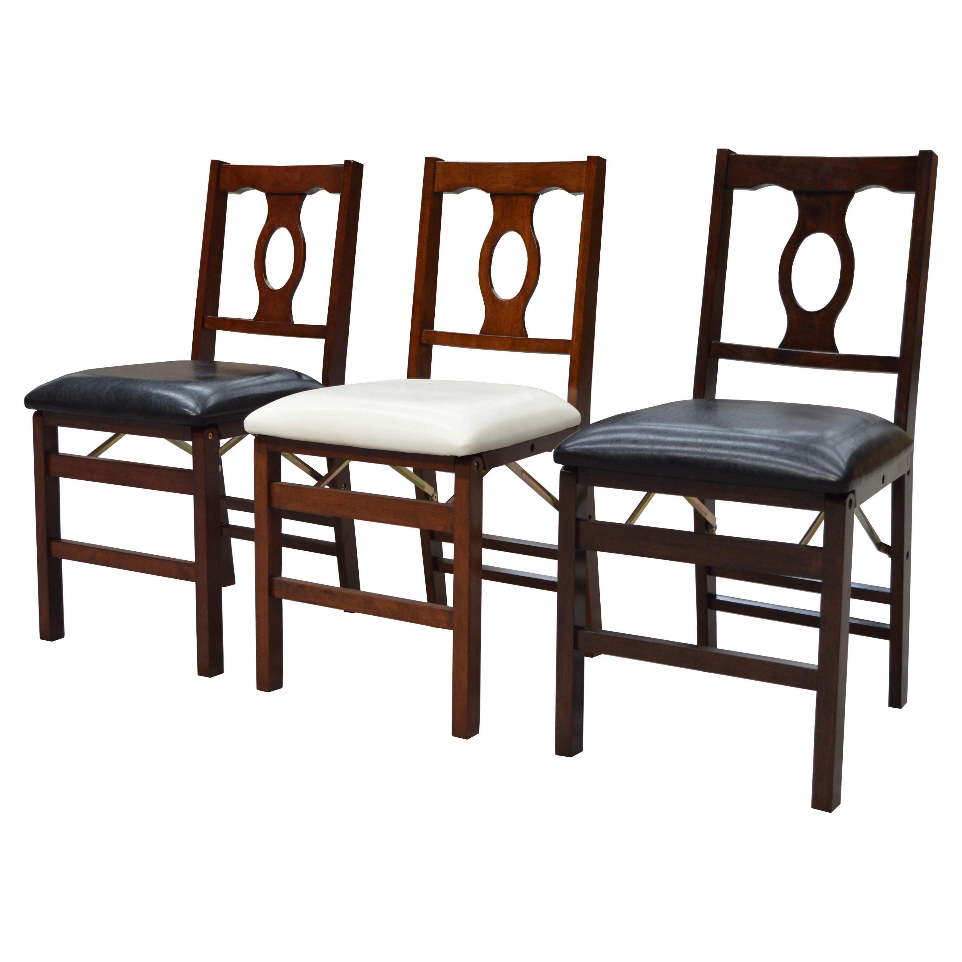 boraam napoleon folding chair set of 2 kitchen dining room chairs at hayneedle. Black Bedroom Furniture Sets. Home Design Ideas