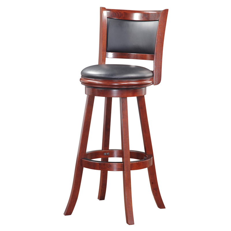 Boraam augusta in swivel extra tall barstool bar