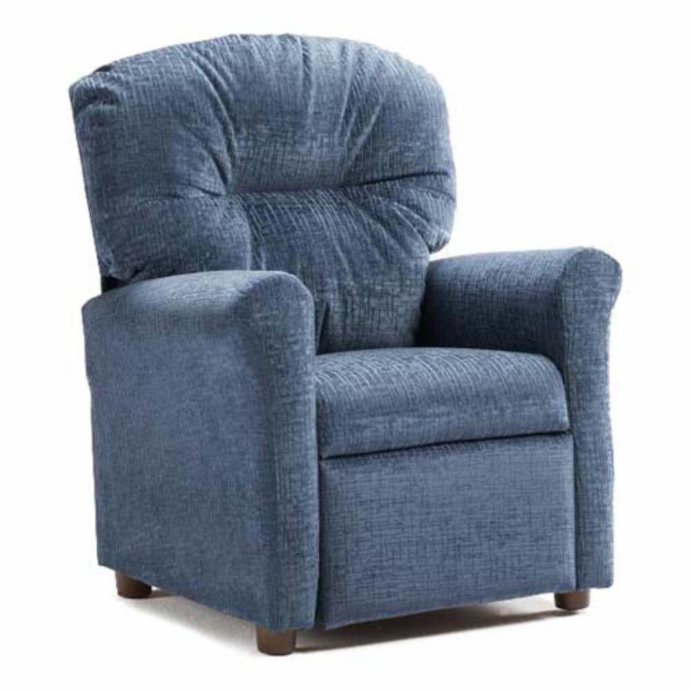 Brazil furniture no button child recliner ebay for Toddler lounge chair