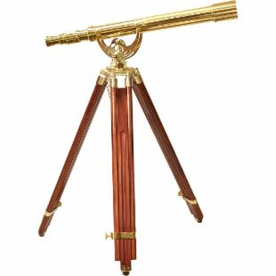 Barska 18x50 Anchormaster Brass Telescope