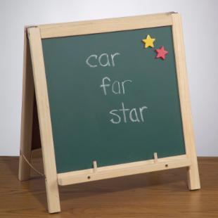 2 in 1 Tabletop Childrens Easel