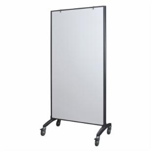Best Rite Trek Mobile White Board Room Divider - 3.1W x 6.2H ft.