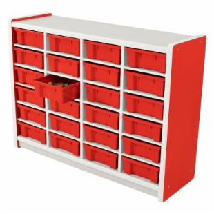 Brite Kids 24 Compartment Storage Unit