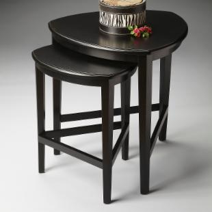 Butler Nesting Tables - Black Licorice