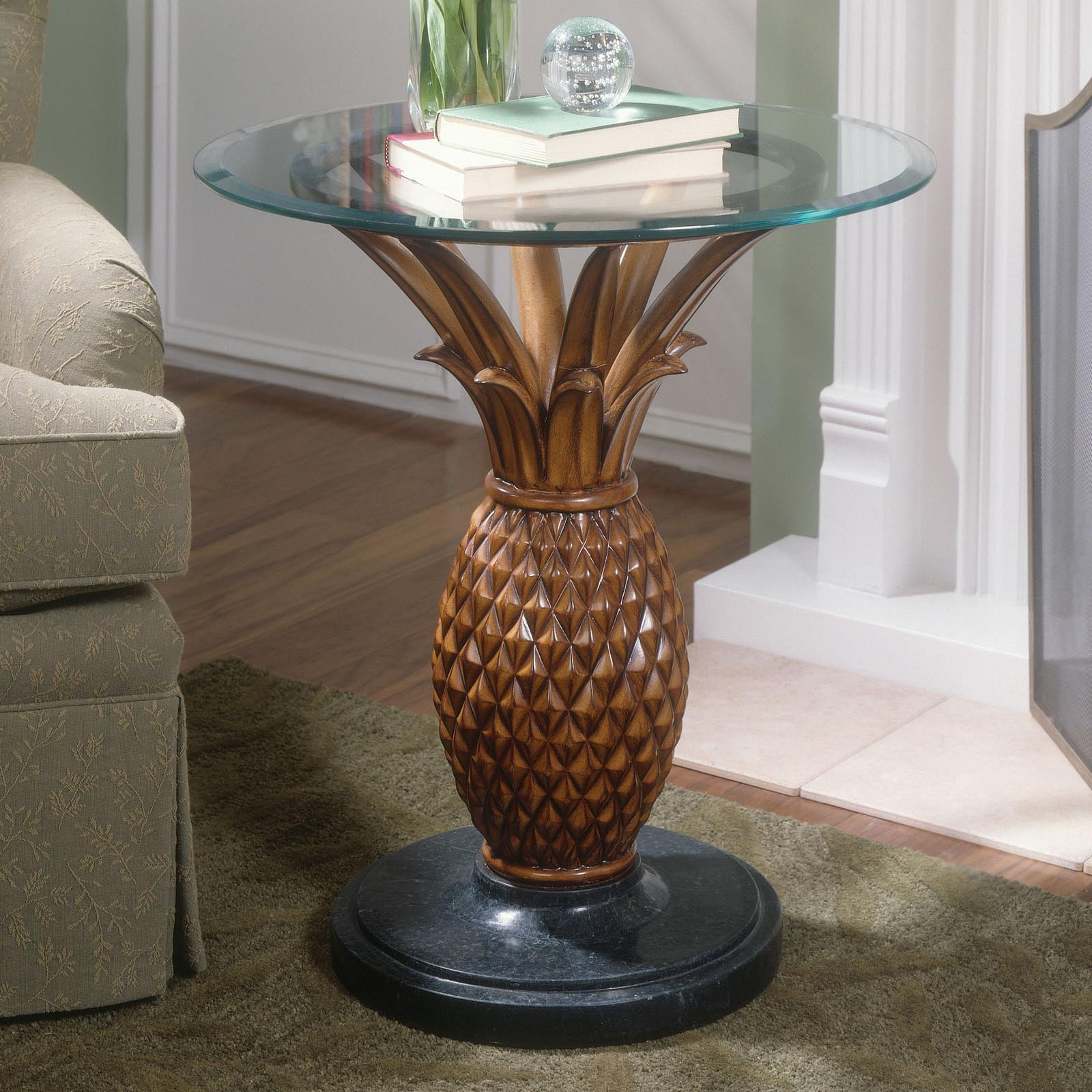 Butler Pineapple Side Table At Hayneedle