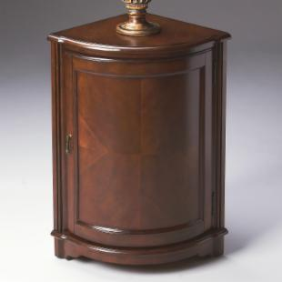 Butler Corner Cabinet - Plantation Cherry