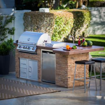 Gas BBQ Grills and Accessories by Bull Products, Fire