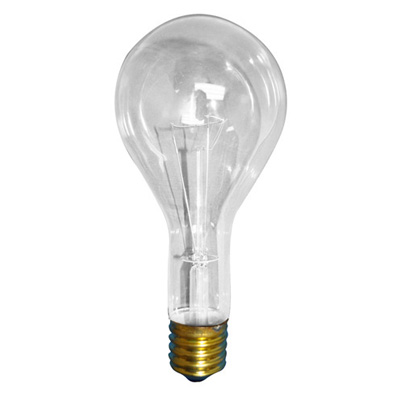 Bulbrite 300w Long Life General Service Clear Incandescent Light Bulb 16 Pk Light Bulbs At