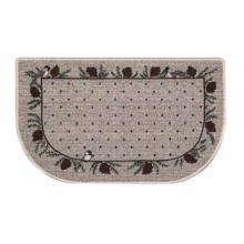  Bacova Chickadee Border Hearth Rug