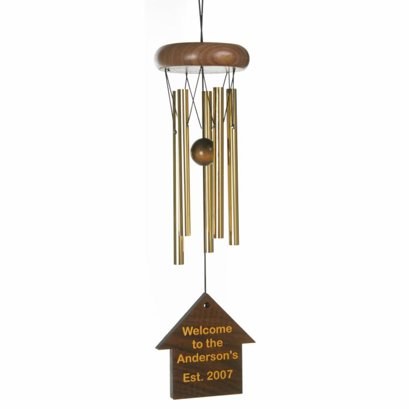Chimes of Your Life Personalized Petite 15 inch Wind Chime