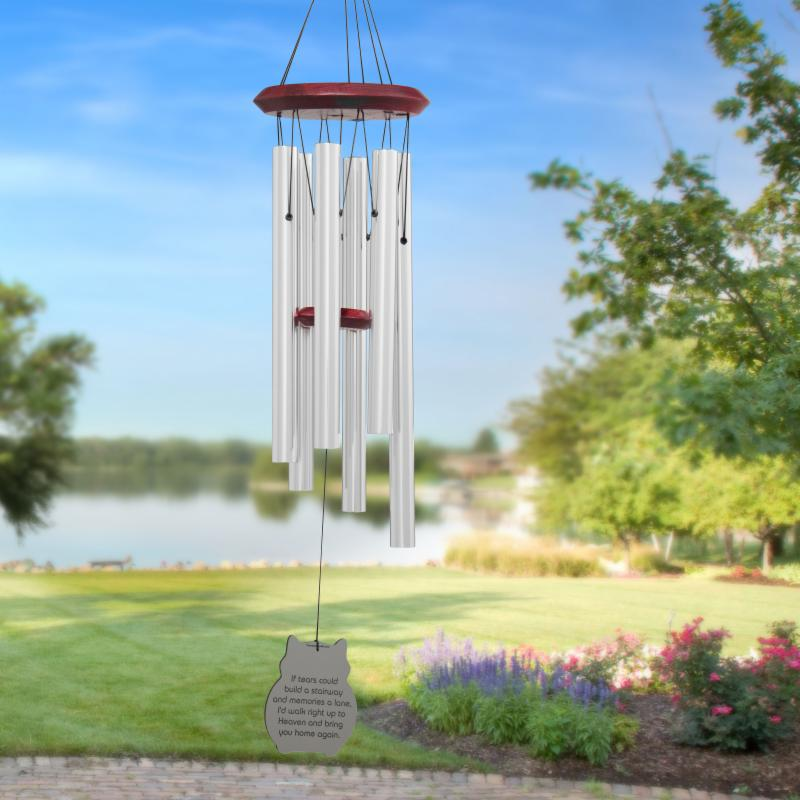 Chimes of Your Life - Cat - If Tears - Pet Memorial Wind Chime